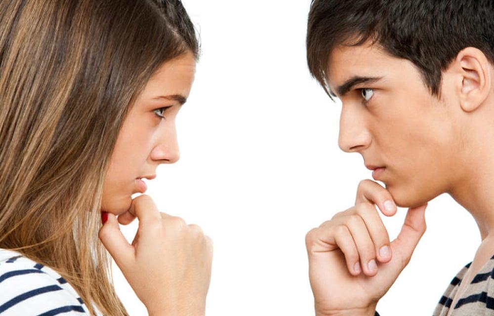 Зрительный контакт при знакомстве